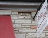 Mumbrauer's Initials in Building Facade