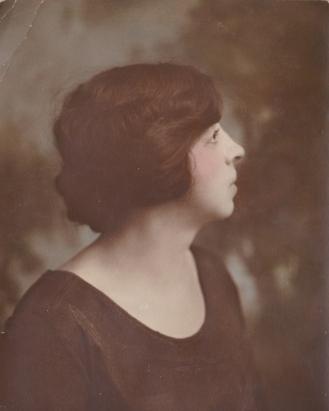 Portrait of Amanda Schuermann Mumbrauer, circa 1920, courtesy of Andrew Hahn.