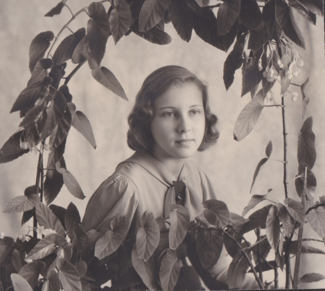 Portrait of Jane Mumbrauer, ca. 1932, courtesy of Andrew Hahn.